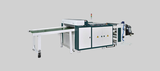 Highspeed tensionless thick gauge bottom seal bag making machine + servo driven flying knife system