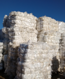 LDPE Natural Film Scrap in bales
