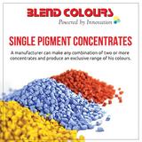 Single Pigment Concentrates