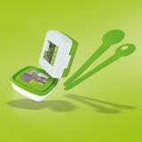 FKuR Brotbox Salatbesteck Terralene