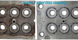 Fisa plastic molds cleaning