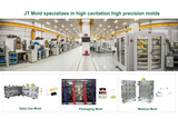 JT Mold specializes in high precision high cavitation molds