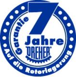 Garantie-Label Delta 7 jahre