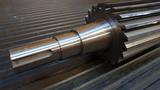Cutting rotor on shaft