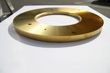 Pulverizer disk TIN coating