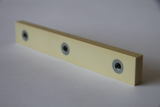 Ceramic with stainless steel inserts