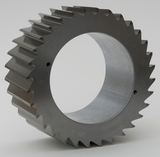 Cutting rotor with Tungsten Carbide teeth