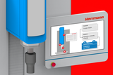 Infografik Digitaler Zwilling Neue Maschinengeneration HiQ Herrmann Ultraschall