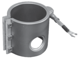 Kunststoffdichter Hochleistungs-Keramik-Düsenheizkörper MEFLEX-KUDI