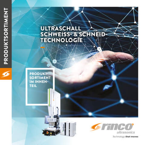Broschüre Rinco Ultrasonics AG