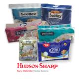 HS 5750W wicket tissue & loop handle bags