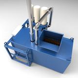 Recycling System mit integrierter Entstaubung