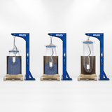 OKTOMAT® SOS emptying station functional sequence