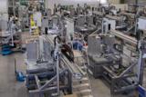 Entnahmeroboter mit Tray Verpackung Ilsemann Automation