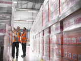 hires exxonmobil stretch wrap warehouse
