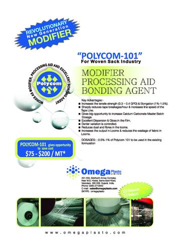 Polycom 101 for Woven Sacks