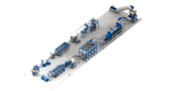 Pet recycling line by inan plastics machinery