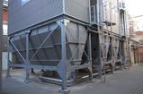 Filteranlage mit Schneckenaustrag und pneumatischer Staubentsorgung