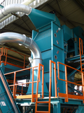 Zig-zag separator in the recycling industry