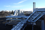Insulated duct system as roof-top construction