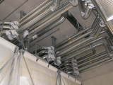 Duct and switch-over system for sorting