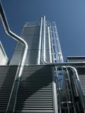 Bulk material silo