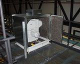 Zerreissventilator für Endlosabfälle in Schallschutzkabine