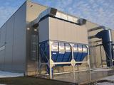 Filteranlage mit Explosionsdruckentlastung und Luftrückführung