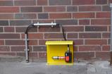 Messung der Gaskonzentration im Aufstellbereich einer Entsorgungsanlage