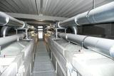 Textile silo unit for expanded plastics