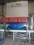 Filteranlage mit Explosionsdruckentlastung