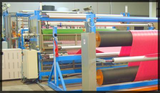 laminator on line lamination process after extrusion