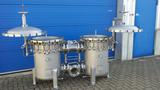 Filtergehäuse in Edelstahl