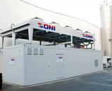 Container Kühlanlage mit FK u KWS außen