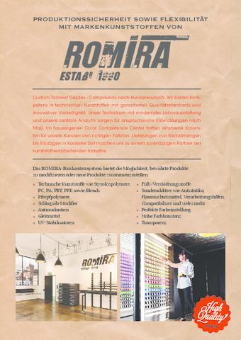 ROMIRA Produkte und Services