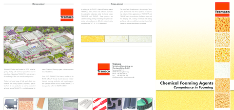 TRAMACO Chemical Foaming Agents
