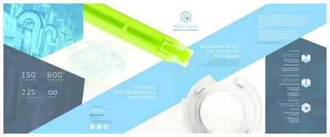 Protolabs Firmenbroschüre