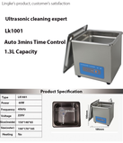 Ultrasonic cleaning expert Lk1001