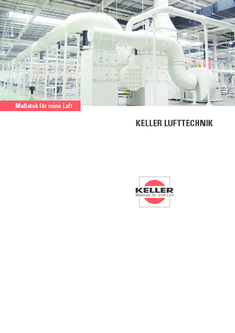 Keller Imagebroschüre