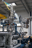 KR production line - The high performance plastic pipe production technology by Krah Made in Germany