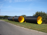 KDR production line - The high performance plastic pipe production technology by Krah Made in Germany