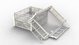 MOULDS FOR FOLDING CRATES