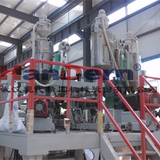 Multi-layer extrusion casting film lamination machine