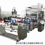 Extrusion casting film lamination machine
