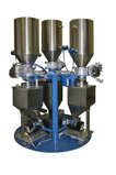 CONTINUOUS DOSING UNITS FOR SINGLE SCREW EXTRUDERS