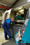 Rotor re-sharpening
