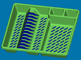 3D Models created using CAD/CAM Software