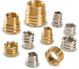 Brass inserts for PPR