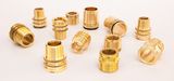 Brass inserts for PPSU and PVDF