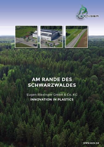 Am Rande des Schwarzwalds - Imagebroschüre der Eugen Riexinger GmbH & Co. KG